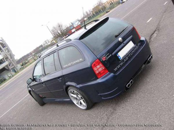 skoda octavia 1996 2005 skoda octavia kombi tylny. Black Bedroom Furniture Sets. Home Design Ideas